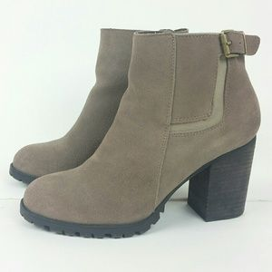 6ded61be8a3 Steve Madden Shoes - Steve Madden  Lacey Taupe Suede Boots  9.5